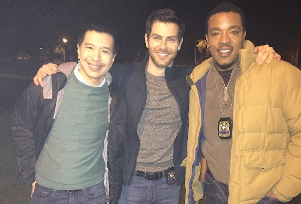 Grimm Behind The Scenes PHotos