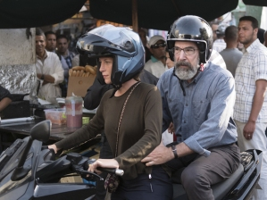 Homeland Season 6 Episode 3 Saul Moped