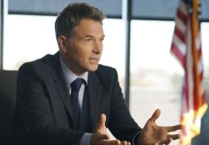 Madam Secretary CBS Tim Daly Injured Rewrite Henry
