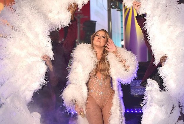 Mariah Carey New Years Eve Interview Lip Synch
