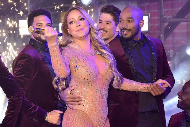Mariah Carey New Year's Break Foiled
