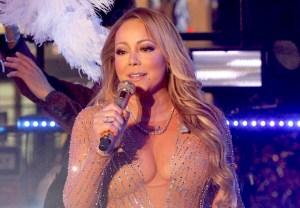 Mariah Carey New Year's eve Lip Sync