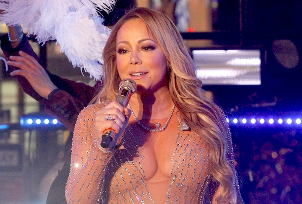 Mariah Carey New Year's eve Lip Sync