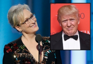 Donald Trump Meryl Streep