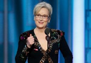 Meryl Streep Donald Trump Golden Globes Speech Video 2017
