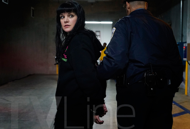 NCIS Abby Arrested