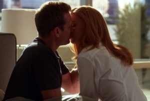 Suits Donna/Harvey Kiss