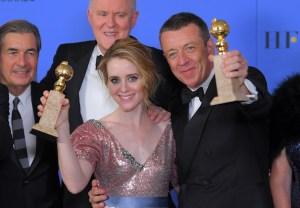 The Crown Netflix Season 2 Golden Globes Claire Foy