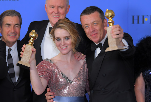 The Crown Netflix Season 2 Golden Globes Claire Foy