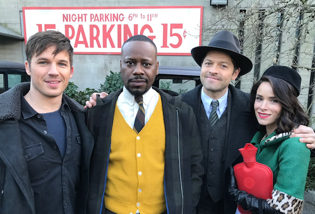 Timeless Season 1 Cast Misha Collins