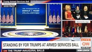 Inauguration Ball CNN