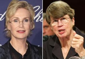 Jane Lynch Janet Reno