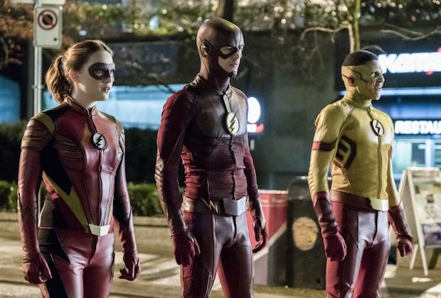 Flash Season 3 Grodd Attack