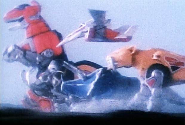 Power Rangers Movie Zords