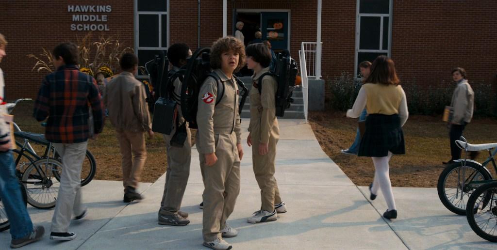 Stranger Things Season 2 Netflix Dustin Ghostbusters
