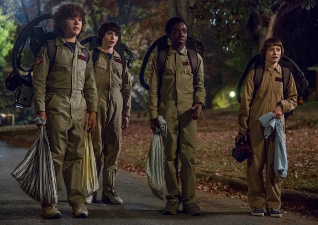 Stranger Things Season 2 Netflix Ghostbusters Halloween