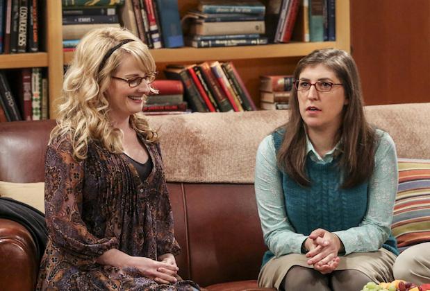 The Big Bang Theory Renewal Contract Melissa Rauch Mayim Bialik