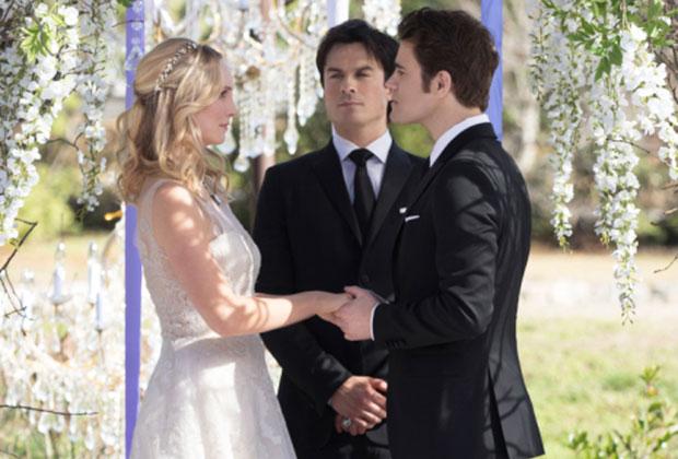 The Vampire Diaries Caroline Wedding Dress