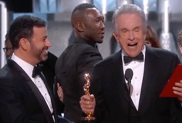 Oscars Mistake Moonlight