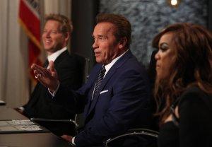 Arnold Schwarzenegger Quits Celebrity Apprentice NBC Donald Trump