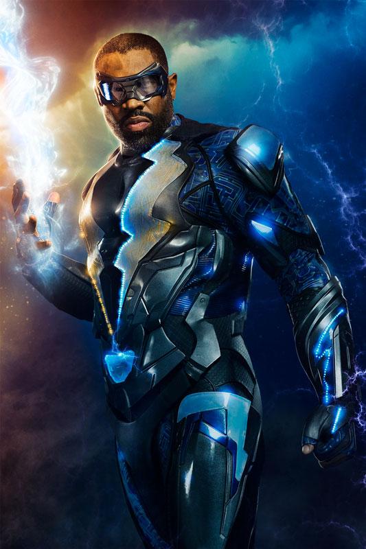Black Lightning Costume CW