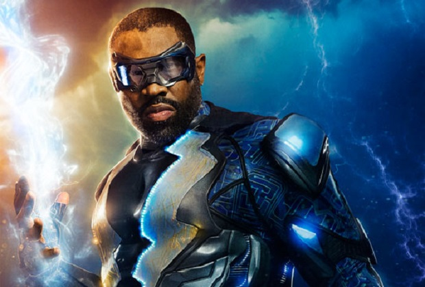 Black Lightning Costume CW