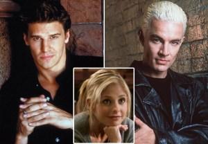 Buffy the Vampire Slayer Angel Spike