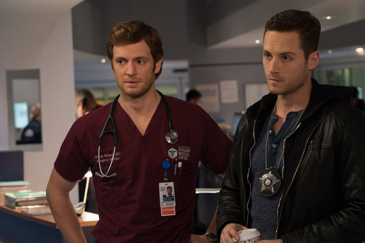 Chicago Med Will and Jay's Father