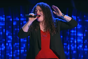 the voice recap blind auditions enid ortiz