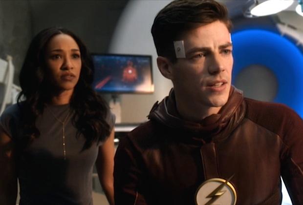 Flash Barry Iris Engaged
