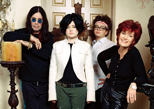 The Osbournes Cast MTV Anniversary Ozzy Sharon Kelly Jack