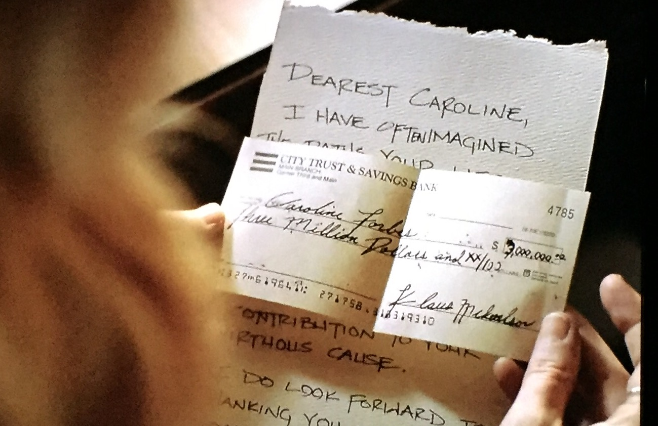 The Vampire Diaries Klaus' Check