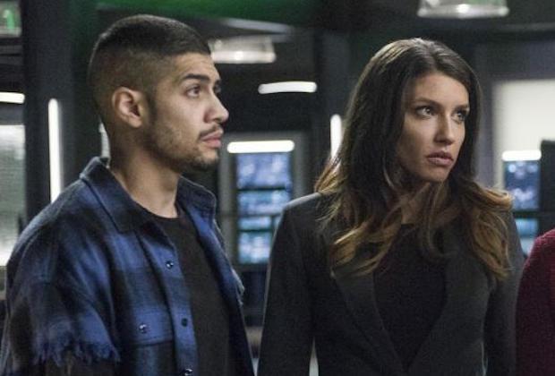 Arrow Rick Gonzalez Juliana Harkavy Series Regular Season 6