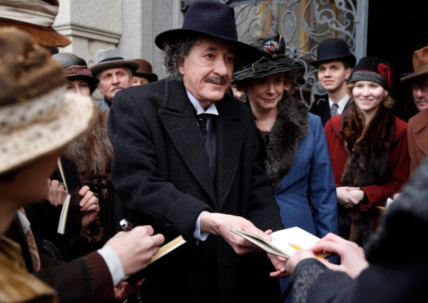 Genius Review Albert Einstein National Geographic Geoffrey Rush