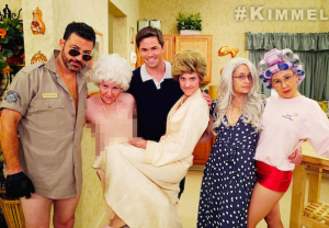 Jimmy Kimmel Live Golden Girls Lena Dunham Video