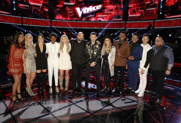the voice recap top 12 results show