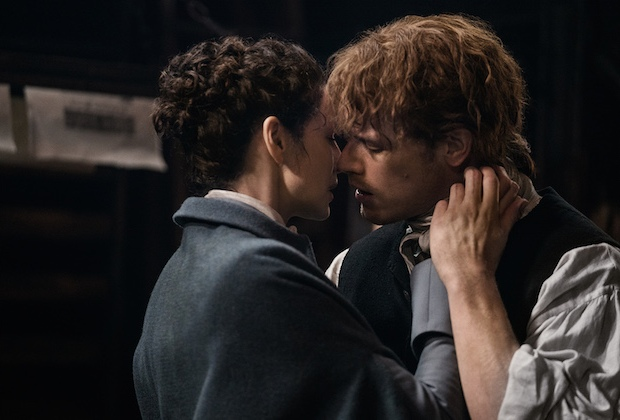 Outlander Photos Season 3 Episode 6 Print Shop Reunion