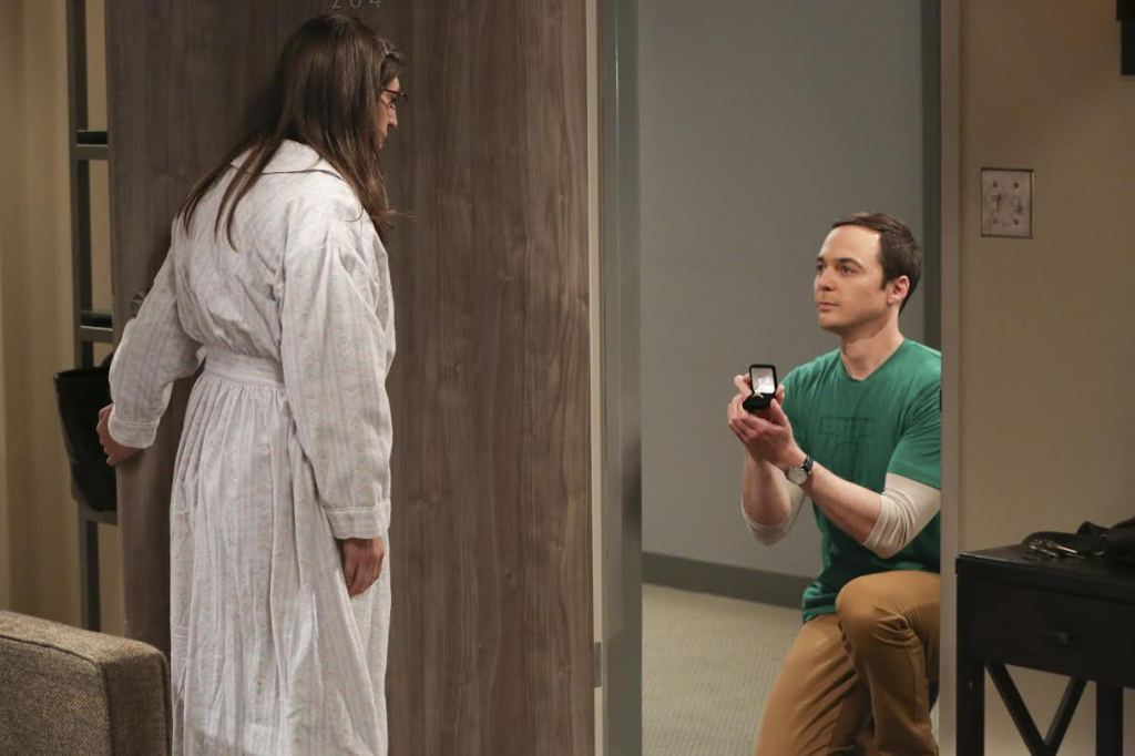 The Big Bang Theory Sheldon Proposes
