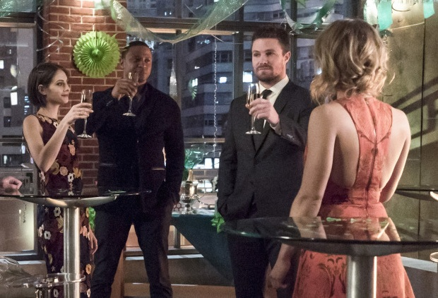 Arrow Oliver Birthday