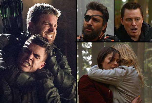 Arrow Season 5 Finale Malcolm Felicity Die