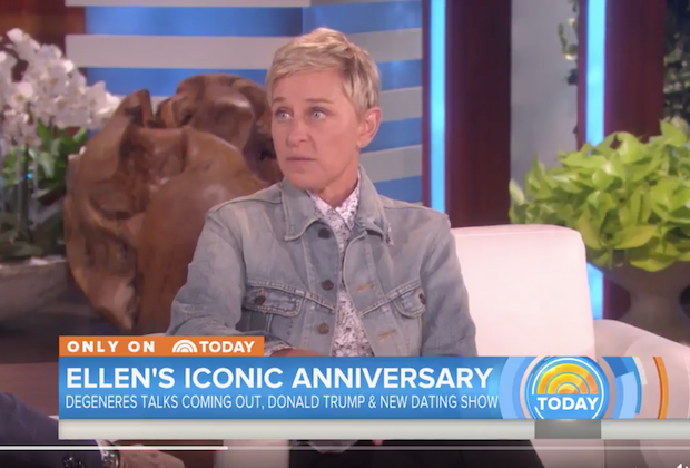 Ellen DeGeneres Donald Trump Not Welcome Show