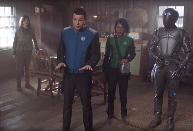 Fox Fall Trailers 2017 Reactions The Orville