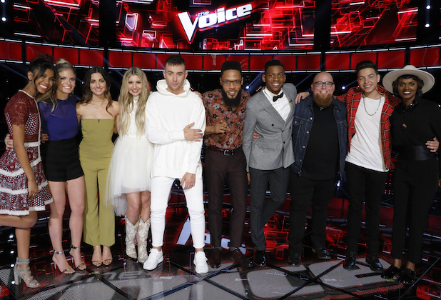 the voice recap top 10 results