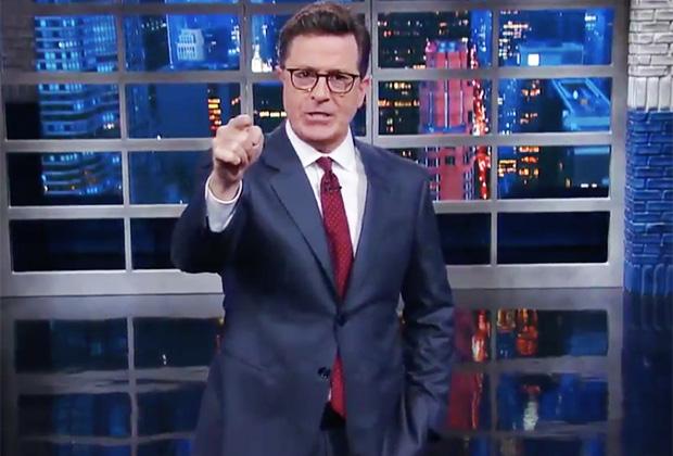 Colbert Trump Monologue Video