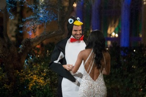 The Bachelorette Premiere Rachel Lindsay ABC Penguin