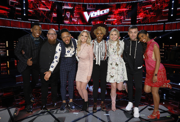the voice recap top 8 results