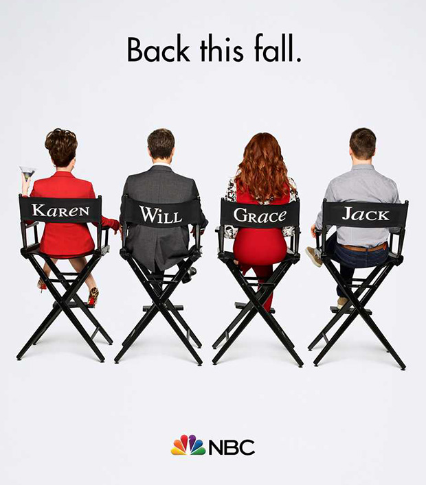 Will & Grace Revival Poster