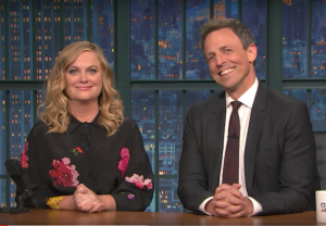 Amy Poehler Seth Meyers Really Video Late Night