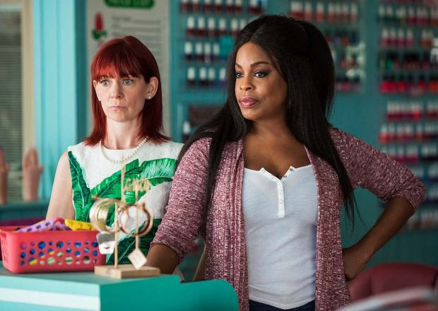 Claws TNT Series Premiere Polly Desna Niecy Nash