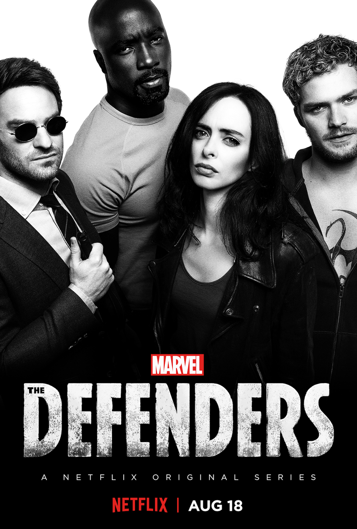 Marvel's The Defenders Netflix Key Art Poster Preview